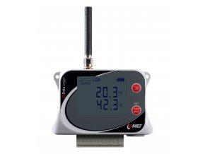 U0843M | Datalogger pro 2 externí teplotní sondy a 2 binární vstupy s GSM modemem