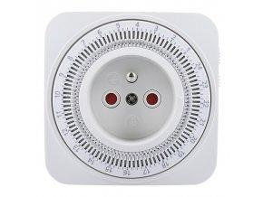 Solight DT06 | časový spínač, 24 h., vypínač, 1 režim