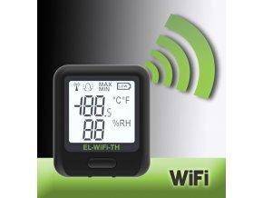 WiFi datalogger teplota-vlhkost WiFi-TH