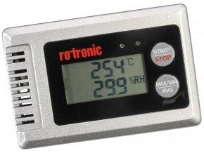 Teplotní datalogger, datalogger vzdušné vlhkosti rotronic HL-1D-SET, teplota, vlhkost vzduchu