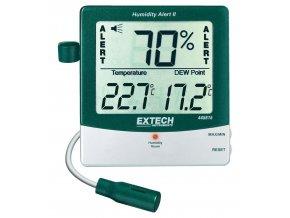 Extech Alert 445815, vlhkoměr s měřením rosného bodu a alarmem
