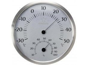 Teploměr/ vlhkoměr Renkforce STH200A | průměr 198 mm | Nerez