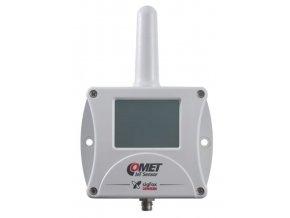 Bezdrátový IoT teploměr, vlhkoměr pro externí sondu, Sigfox