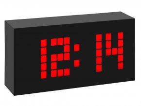 DCF hodiny s červenými LED segmenty TFA 60.2508