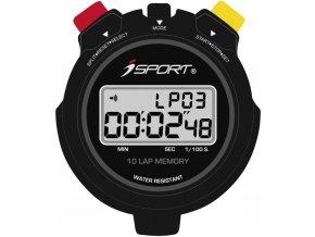 Digitální stopky iSport JG021 Pro, černá