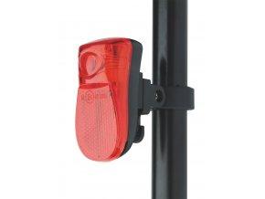 Zadní supersvítivá červená cyklosvítilna | XC-106R | 1x LED | P3913