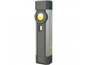 Profesionální mini svítilna Kunzer PL-031; 3W COB LED; UV LED; Li-Ion akumulátor