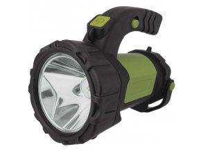 Nabíjecí svítilna LED P4526, 5W CREE + COB LED
