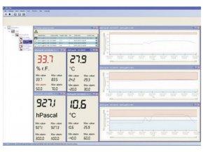 20-ti kanálový software pro záznam, kontrolu, vizualizaci