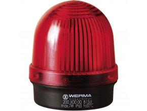 Optická signalizace Werma Signaltechnik 200.100.00 | IP65 | Červená | Trvalé světlo | 12-240 V AC/DC