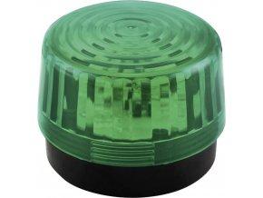 Optická signalizace LED Velleman HAA100GN | Zelená | Záblesková | 12 V/DC