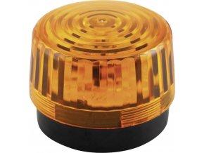 Optická signalizace LED Velleman HAA100AN | Oranžová | Záblesková | 12 V/DC
