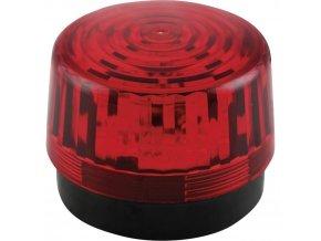 Optická signalizace LED Velleman HAA100RN | Červená | Záblesková | 12 V/DC