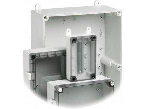 Styčníky pro montáž na stěnu (2 ks) Fibox FP 10674 (FP 10674)