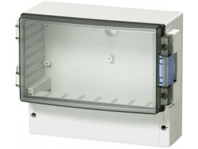 Skříň regulátoru Fibox ABS 17/16-0L, (š x v x h) 160 x 166 x 106 mm, šedá (ABS 17/16-L3)
