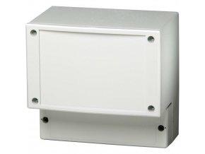 Skříň regulátoru Fibox PC 21/18-CFC, (š x v x h) 185 x 213 x 102 mm, šedá (PC 21/18-FC3)