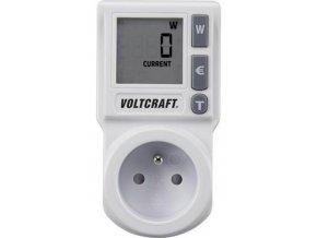 Měřič spotřeby elektrické energie Voltcraft EM 1000 BASIC, CZ zásuvka