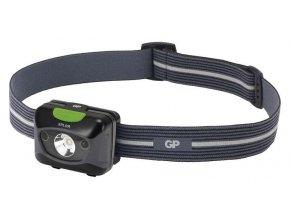 Čelovka GP PHR15 na 3x AAA, 1x CREE LED 5W s USB nabíjením |P8562