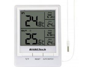 Digitální teplo - vlhkoměr Basetech BTH 01