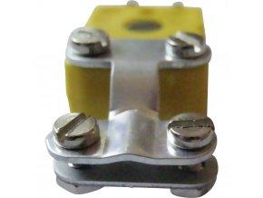 Odlehčení napětí pro miniaturní termočlánkové konektory