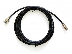 BNC prodlužovací kabel; samec-samice ; RG58; 3 m