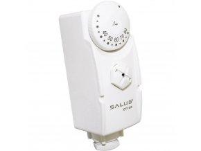 Mechanický termostat na potrubí Salus Controls AT10 | teplotní rozsah +30 až +90°C