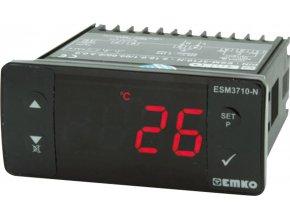 Termostat Emko ESM-3710-N, typ senzoru J , -55 až 999 °C, relé 16 A