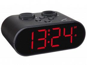 Digitální rádiobudík DCF s funkcí nabíjení USB TFA 60.2551.01 ELLYPSE