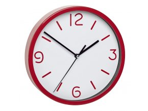 Nástěnné hodiny červené TFA 60.3033.05