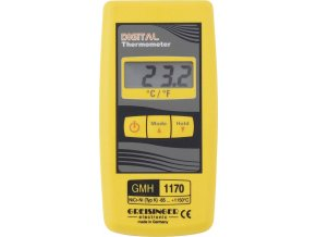 Vysoce přesný kontrolní digitální teploměr Greisinger GMH 1170 pro termočlánky typu K