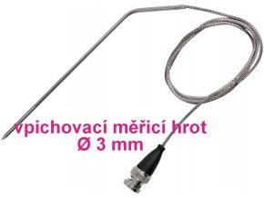 Vpichovací sonda VOLTCRAFT TPT-209 VC-8603665, -70 až 400 °C, 120 mm, typ senzoru=Pt1000