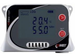 U3120 | Záznamník teploty a vlhkosti s vestavěnými čidly