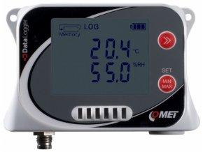 U3631 | Záznamník teploty a vlhkosti s konektorem pro externí sondu teploty