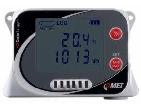 U4130 | Záznamník teploty, vlhkosti a atmosférického tlaku s vestavěnými čidly