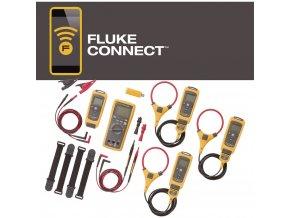 Profi sada vhodná pro průmyslové použití, Fluke FLK-3000 FC IND, Fluke Connect