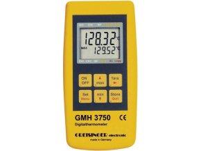 GMH3750 | Digitální teploměr Pt100 s loggerovou funkcí pro výměnné snímače
