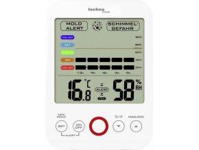 Vlhkoměr-teploměr TechnoLine WS 9422; vlhkostní alarm, historie až 12 hod.; MIN/MAX; rosný bod