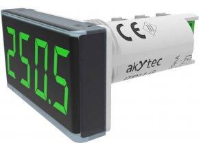 Panelové měřidlo Akytec, ITP11-G, vstupní signál 4-20 mA, zelená