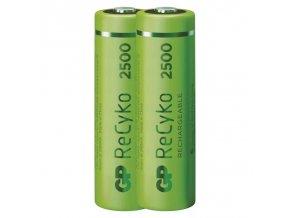 Nabíjecí baterie GP ReCyko+ 2500 HR6 (AA), krabička, 2 kusy | B1405