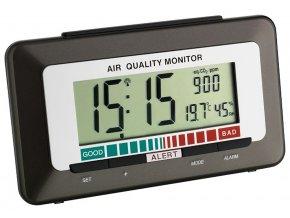 DCF budík s měřením kvality vzduchu TFA 60.2527.10