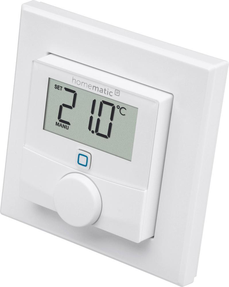 Bezdrátový nástěnný termostat Smart Home Homematic IP HmIP-WTH-2, Max. dosah 250 m