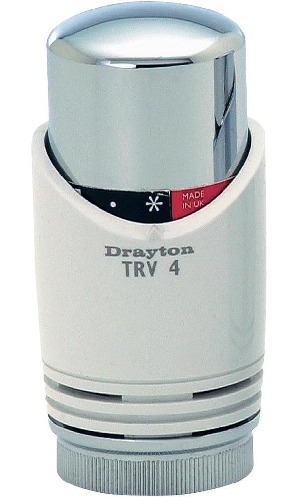 Eberle Termostatická hlavice TRV 4 Classic, M30 x 1.5, bílá/ chrom (20 35 02)