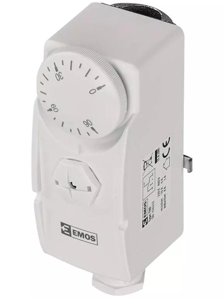 Emos Příložný termostat T80   P5681   teplotní rozsah 0 až 90°C