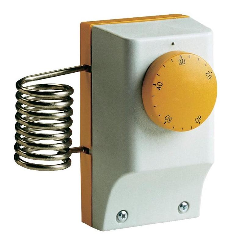 Perry Electric Průmyslový termostat prostorový +20 až +60 C, 1TCTB091