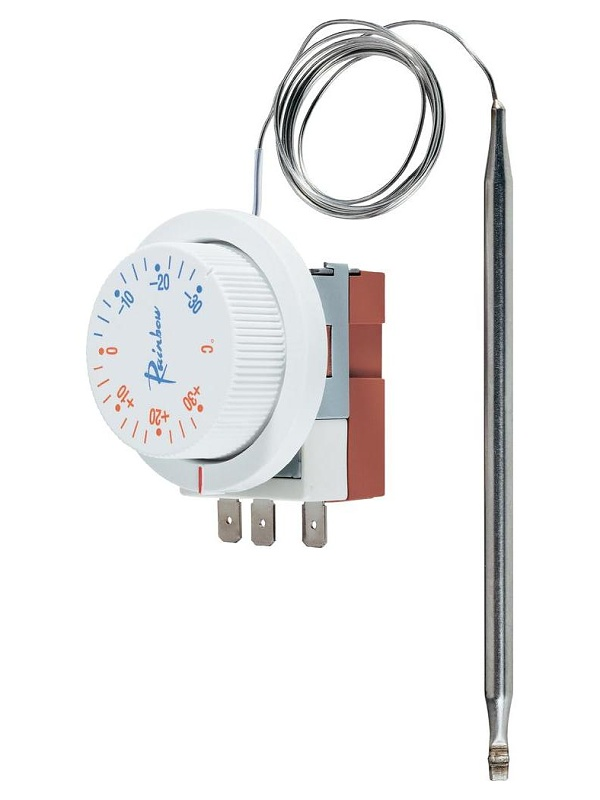 Conrad Vestavný kapilárový termostat , rozsah -30 °C až +30 °C