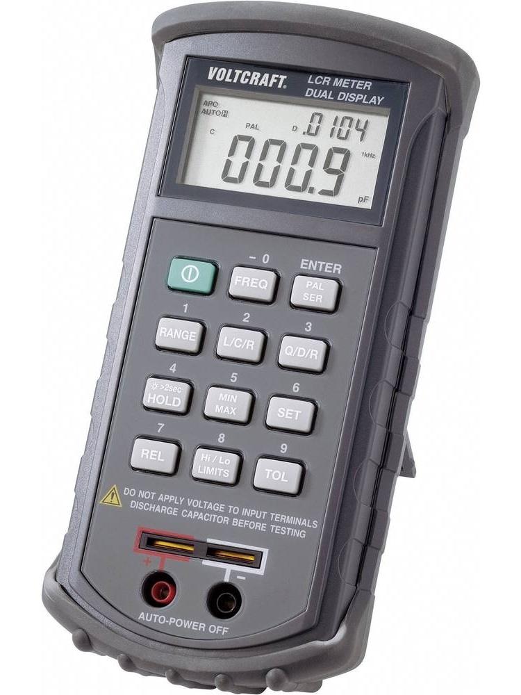 Voltcraft LCR měřič pro měření cívek, kondenzátorů, odporů 4080