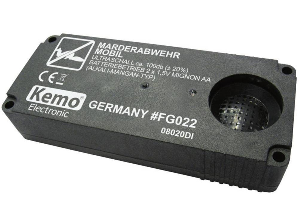 Kemo Electronic Přenosný odpuzovač kun Kemo FG022