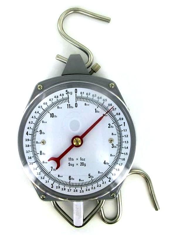 OEM Závěsná váha - mechanický mincíř do 5 kg / 20 g
