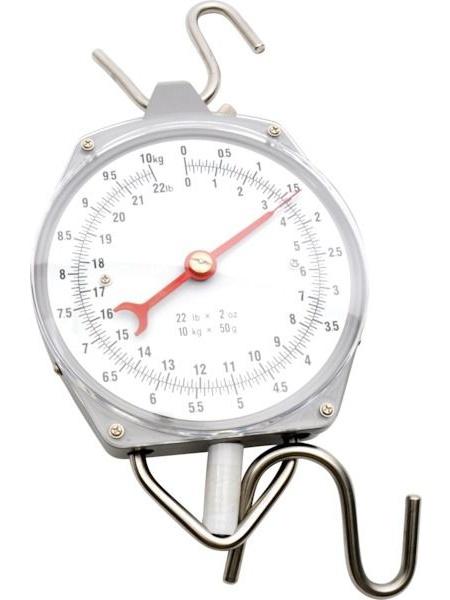 Nespecifikovano Levná závěsná váha - mechanický mincíř do 10 kg / 50 g