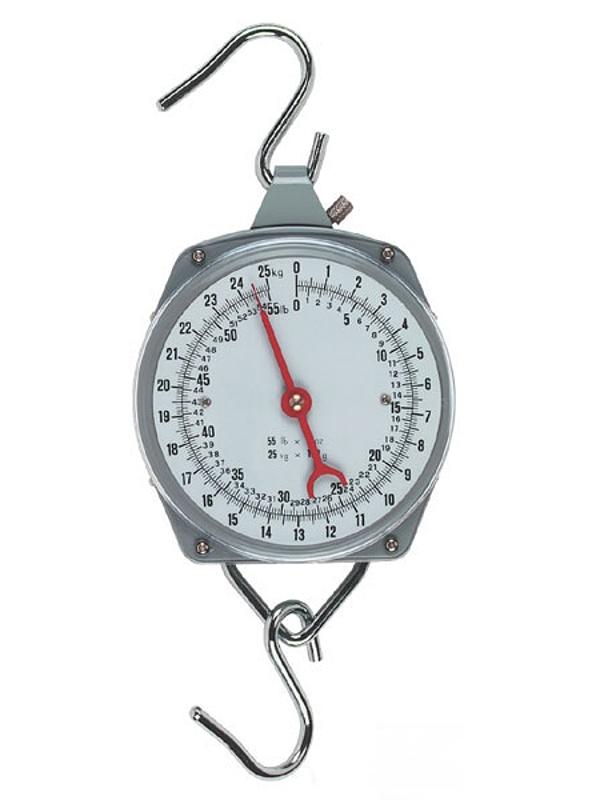 Nespecifikovano Levná závěsná váha - mechanický mincíř do 25 kg